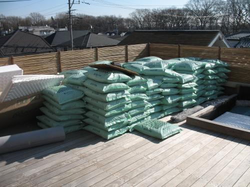 屋上緑化&ウッドデッキ⑭